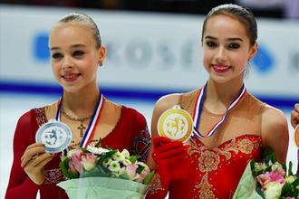 Анастасия Губанова и Алина Загитова