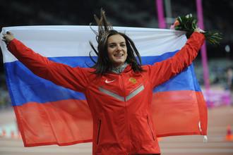Елена Исинбаева спустя 10 лет стала чемпионкой России по прыжкам с шестом
