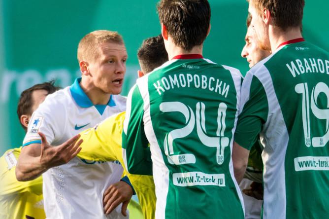 «Зенит» сыграл вничью с «Тереком» 1:1 в рамках 18-го тура чемпионата России по футболу.
