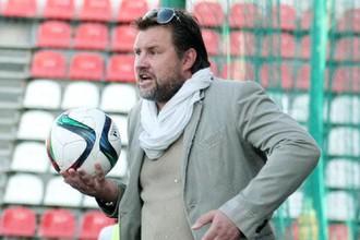 Сергей Шустиков во время одного из матчей «Соляриса» в нынешнем сезоне