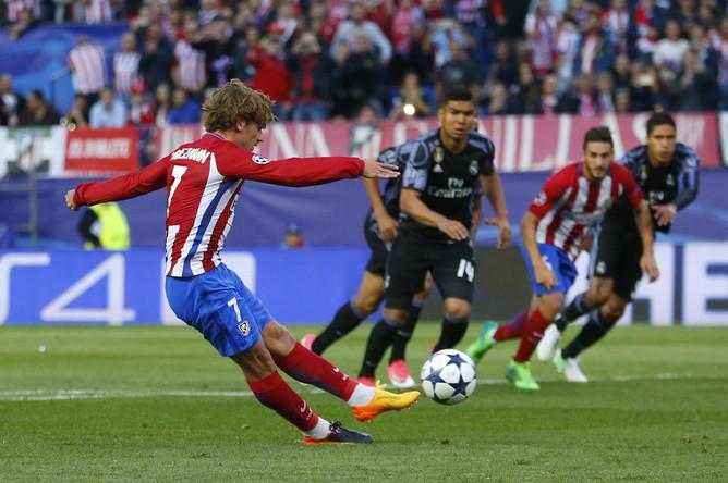 «Атлетико» в атаке