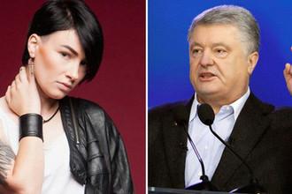 Участница «Евровидения» разгромила Порошенко в суде