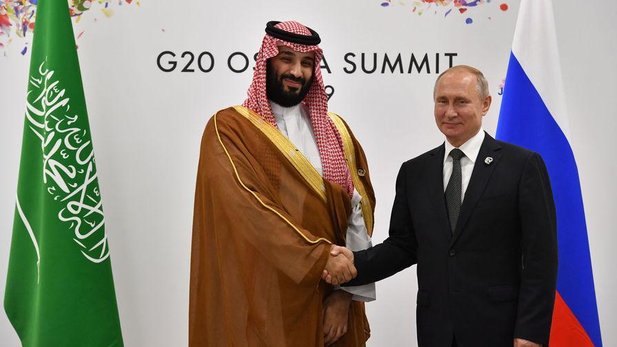 Песков прокомментировал информацию о ссоре Путина с саудовским принцем