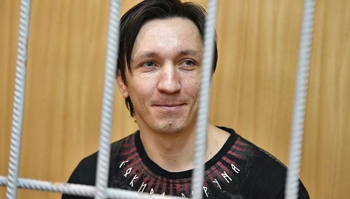 Станислав Зимовец во время оглашения приговора в Тверском суде Москвы, 20 июля 2017 года