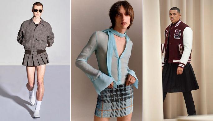 «Очень удобно»: почему мужчины захотели носить юбки