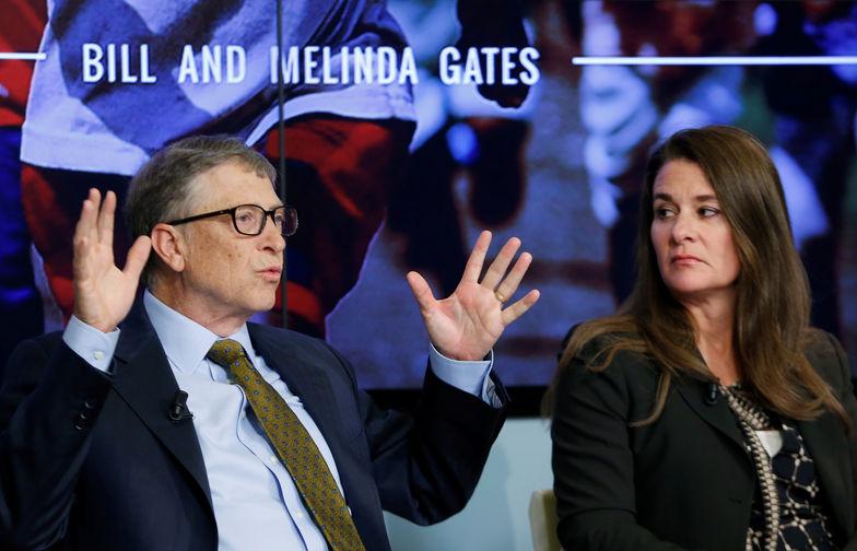 Билл и Мелинда Гейтс в Брюсселе, 2015 год