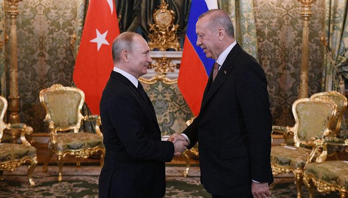 «Регион в крови»: о чем договорились Путин и Эрдоган