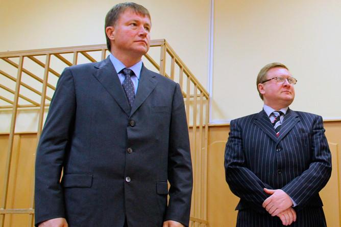 Экс-губернатор Вячеслав Дудка в Басманном суде
