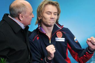 На Артура Гачинского тренер Алексей Мишин возлагает большие надежды