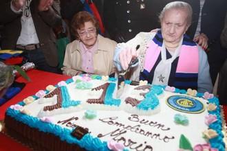 Марии Радаэлли на свое 113-летие