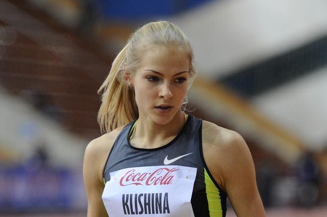 Дарья Клишина — предендент на медали в прыжках в длину