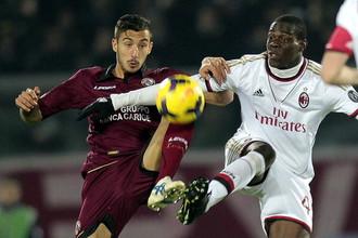 Балотелли практически в одиночку принес «Милану» очко