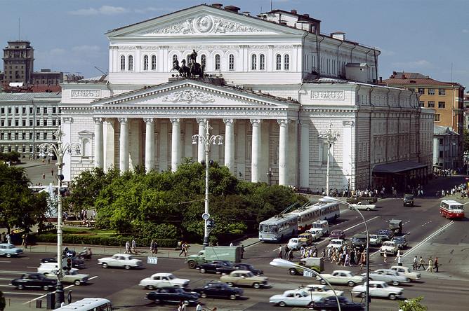 Здание Большого театра, 1973 год