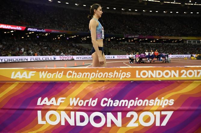 Прыгунья Мария Ласицкене выиграла чемпионат мира по легкой атлетике