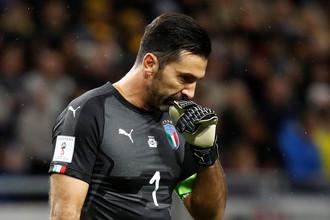 Голкипер сборной Италии Джанлуиджи Буффон