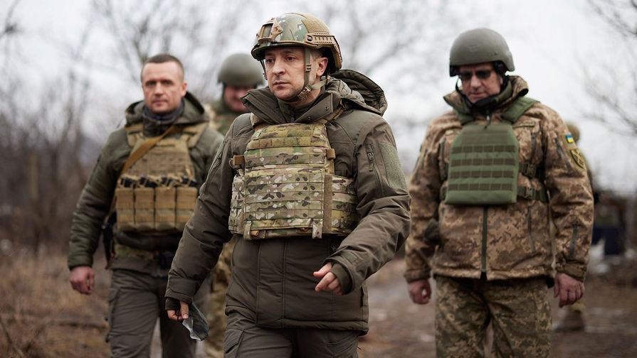 Зеленский прибыл в Донбасс