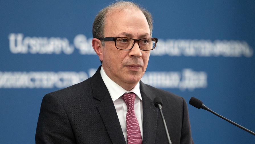 Исполняющий обязанности главы МИД Армении Ара Айвазян