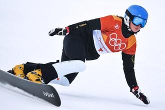 Российская сноубордистка Алена Заварзина на Олимпиаде-2018
