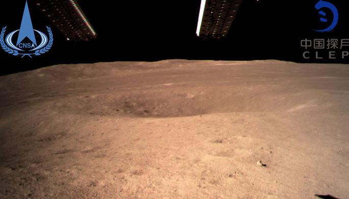 Китай назвал посадку на обратной стороне Луны полностью успешной