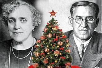 Авторы песни «В лесу родилась елочка» — поэтесса Раиса Кудашева и композитор Леонид Бекман
