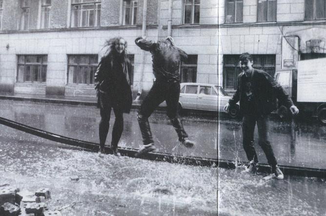 Ленинград, 1989 год
