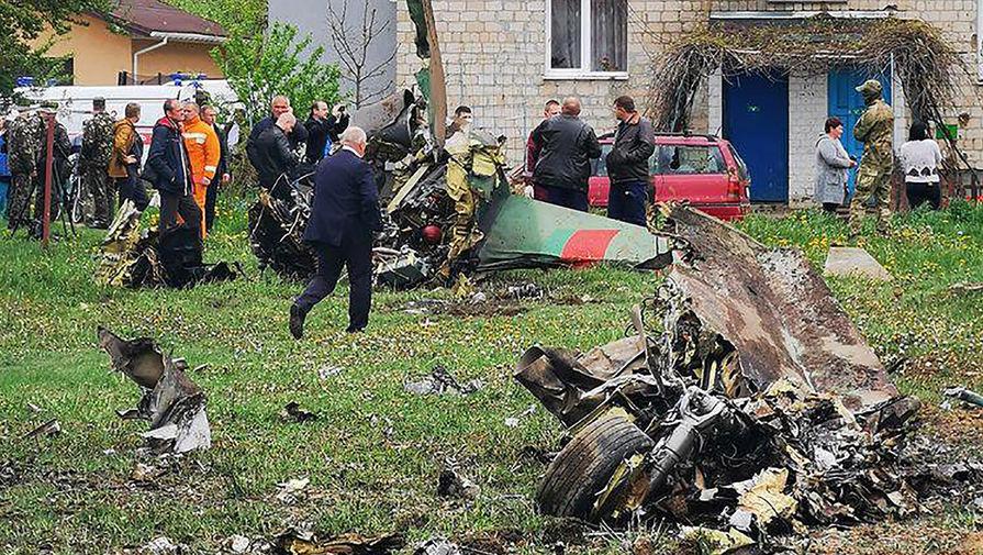 «Вот цена всех парадов»: в Белоруссии разбился военный самолет