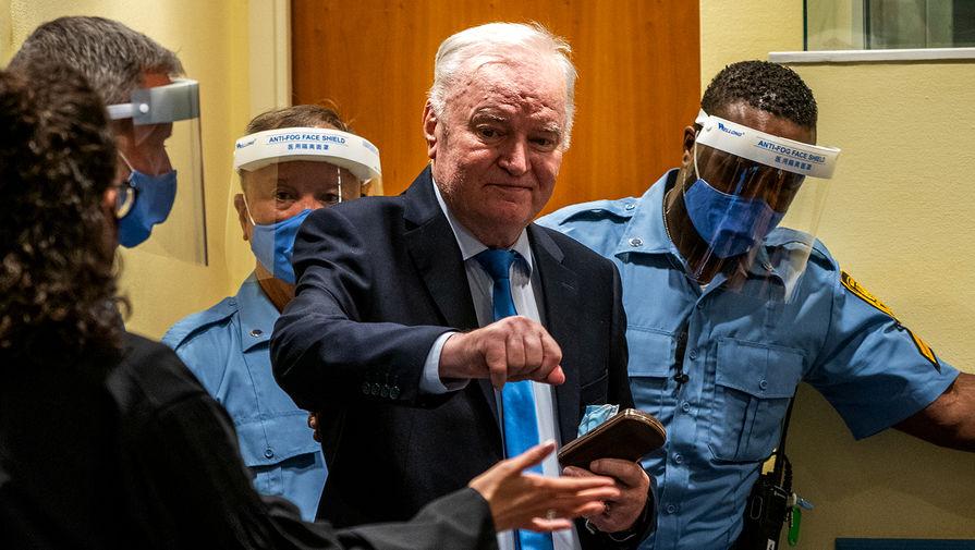 Суд в Гааге подтвердил пожизненный приговор генералу Младичу