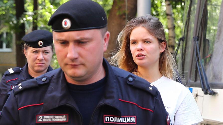 В Москве задержана участница группы Pussy Riot Никульшина