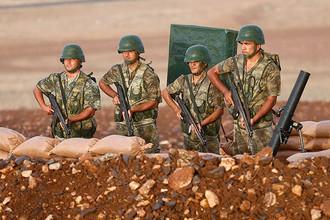 Солдаты турецкой армии в Сирии
