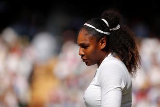 Американская теннисистка Серена Уильямс