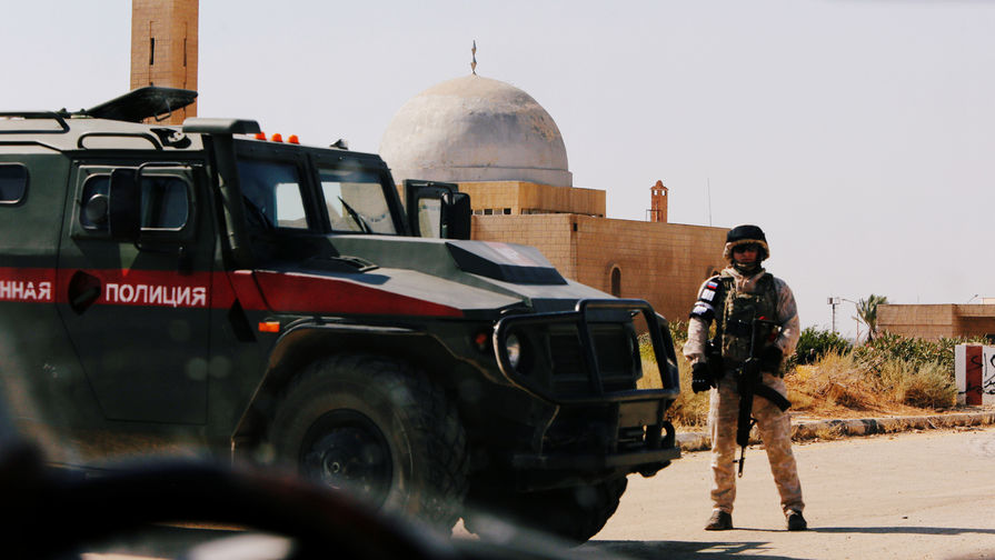 Россия может развернуть военную полицию на границе Сирии и Турции