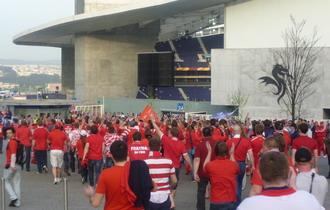 Проход к стадиону
