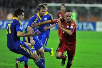 Футболисты клуба из Борисова сумели сдержать Франка Рибери и его партнеров
