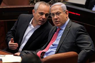Ювал Штейниц и Биньямин Нетаньяху