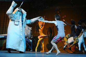 Сцена из балета «Мойдодыр» в Большом театре