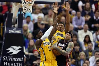 «Индиана» обыграла «Майами» в матче регулярного чемпионата НБА