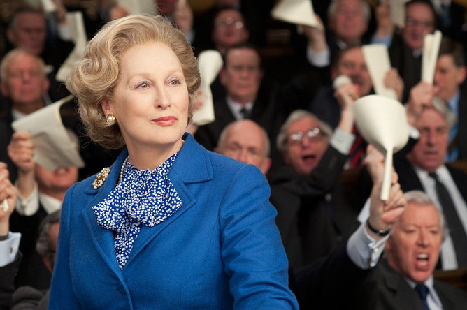Кадр из фильма «Железная леди» (The Iron Lady, 2011)