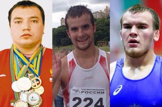 Слева направо: Андрей Драчев, Николай Иванов и Юрий Власко