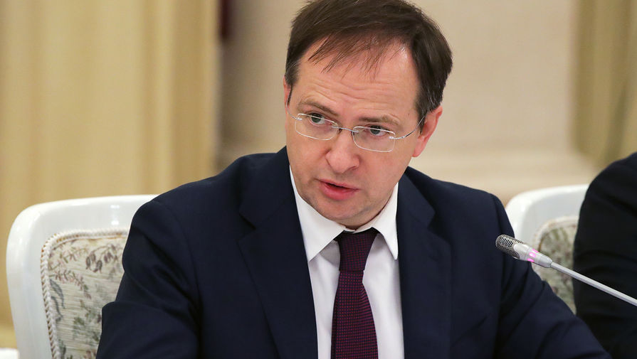 Помощник президента Владимир Ростиславович Мединский