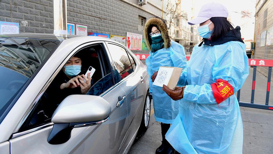 В Китае выявлен новый район распространения заражения COVID-19 внутри страны