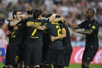 «Барселона» сумела забить «Спортингу» всего лишь один гол