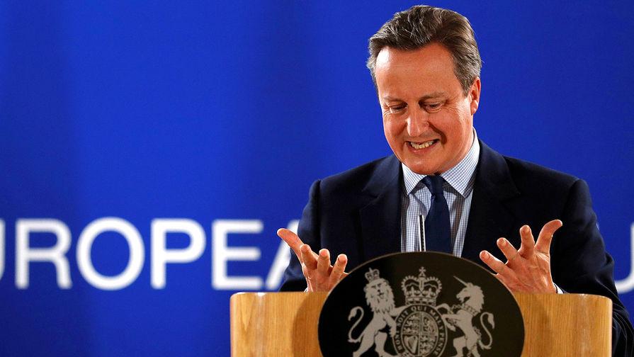 Кэмерон хочет стать министром иностранных дел Британии