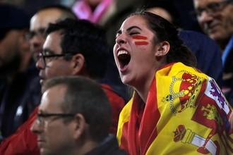 Сборная Испании славится горячими болельщицами