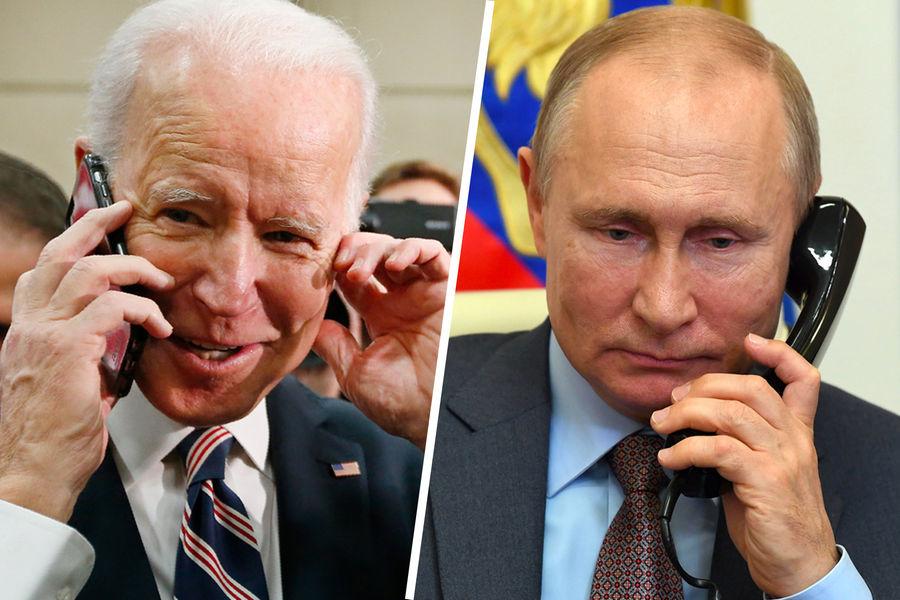 Украинское издание сообщило об организации новой встречи Байдена и Путина