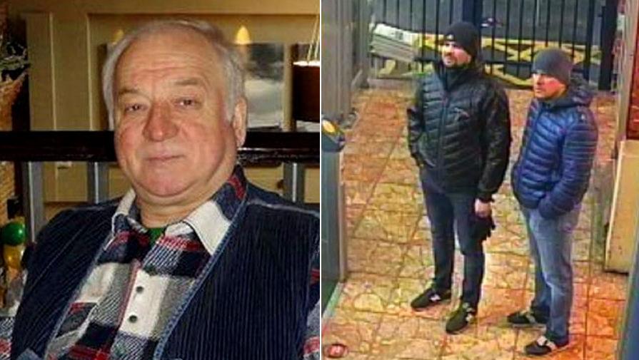 """СМИ обнаружили еще двух подозреваемых по """"делу Скрипалей"""""""