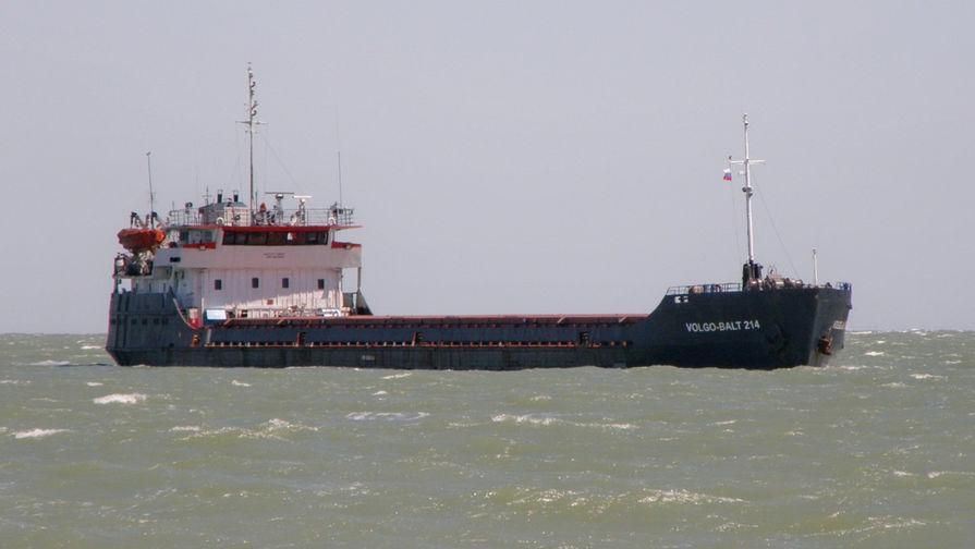 Судно с украинцами на борту затонуло у берегов Турции