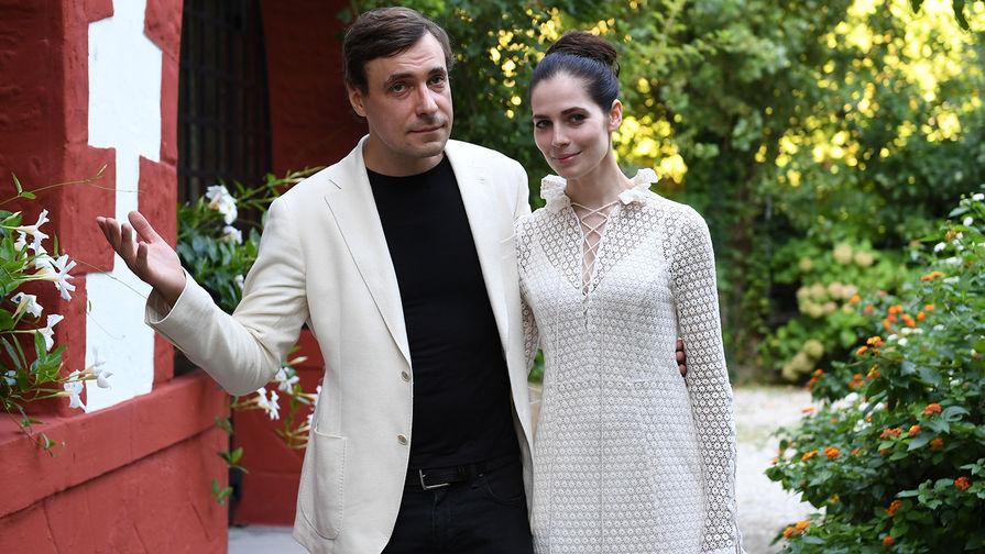 Актеры Евгений Цыганов и Юлия Снигирь, 2018 год