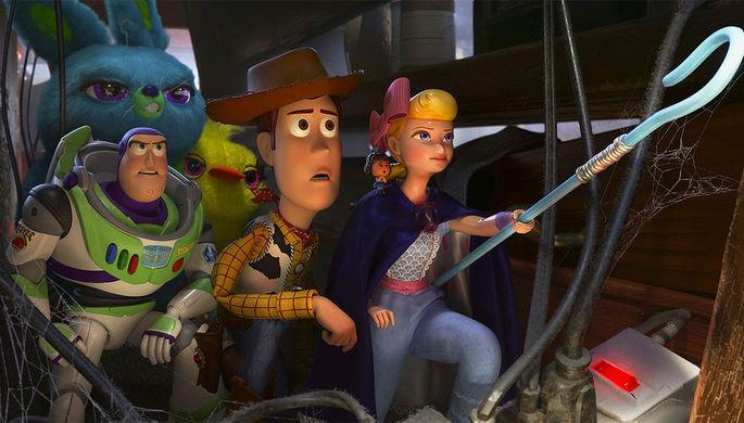 Кадр из мультфильма «История игрушек 4»