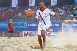 Сборная России по пляжному футболу вышла в финал Межконтинентального Кубка