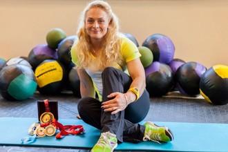 Трехкратная чемпионка мира по тяжелой атлетике Оксана Сливенко